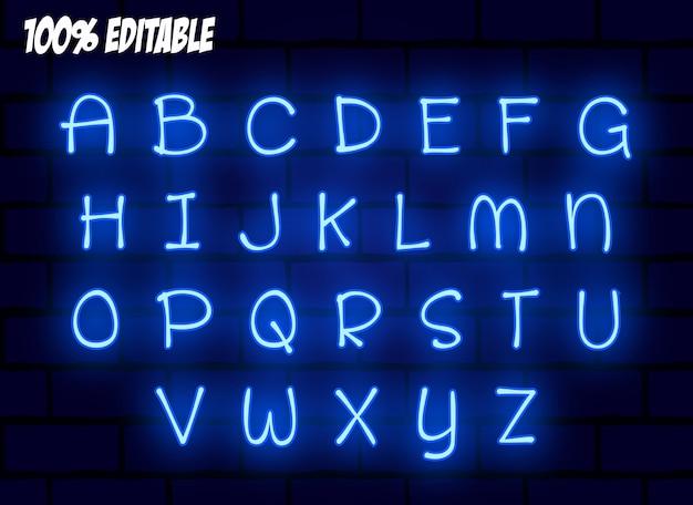 Efekt tekstowy dla chłodnego futurystycznego efektu