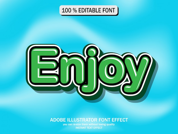 Efekt tekstowy dla fajnego futurystycznego efektu