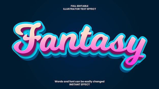 Efekt tekstowy fantasy