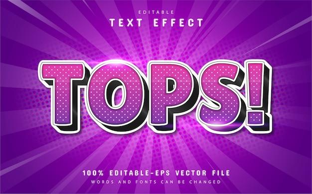 Efekt tekstowy fioletowy gradient z teksturą