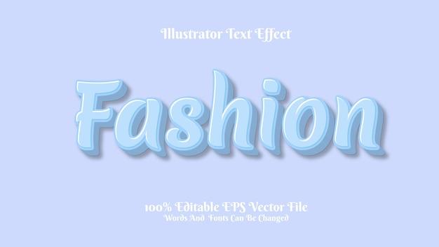 Efekt tekstowy moda 3d premium
