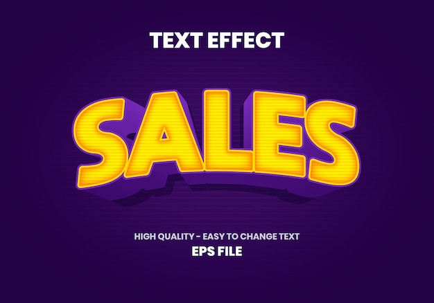 Efekt tekstowy sprzedaży
