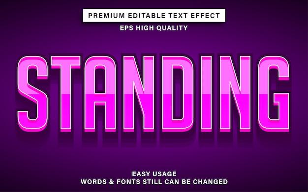 Efekt tekstowy w kolorze różowym