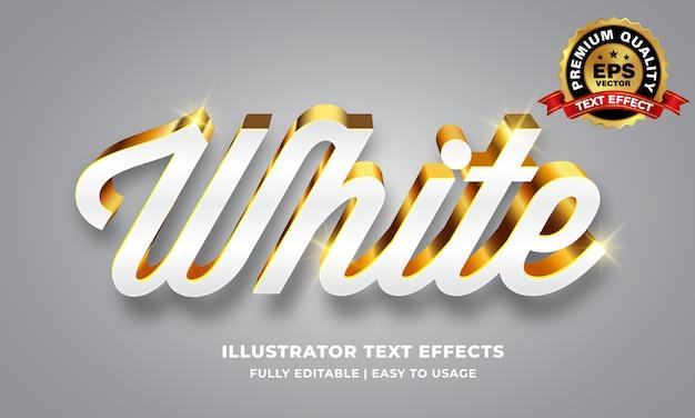 Efekt tekstowy z białego złota
