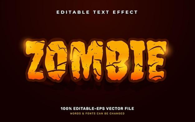 Efekt tekstowy zombie