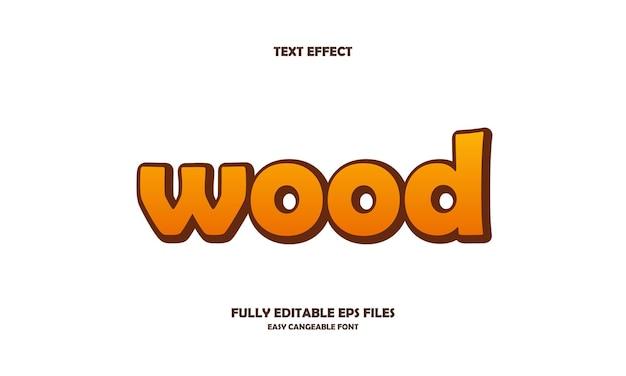 Efekt tekstu drewna