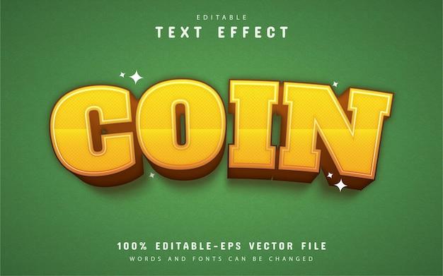 Efekt tekstu monety