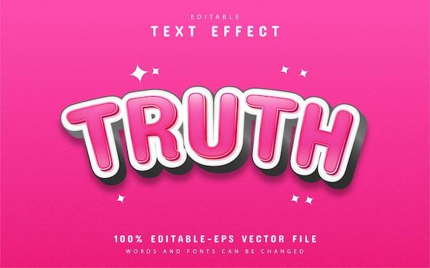 Efekt tekstu prawdy