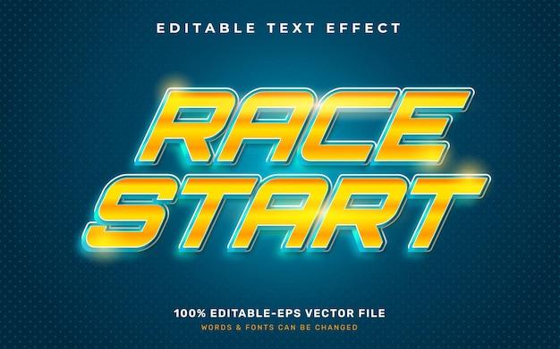 Efekt tekstu wyścigu