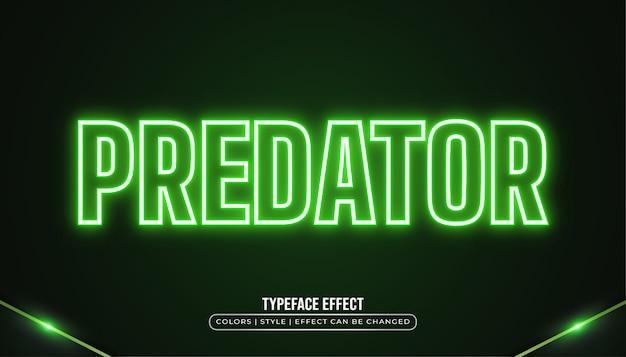Efekt zielonego neonu