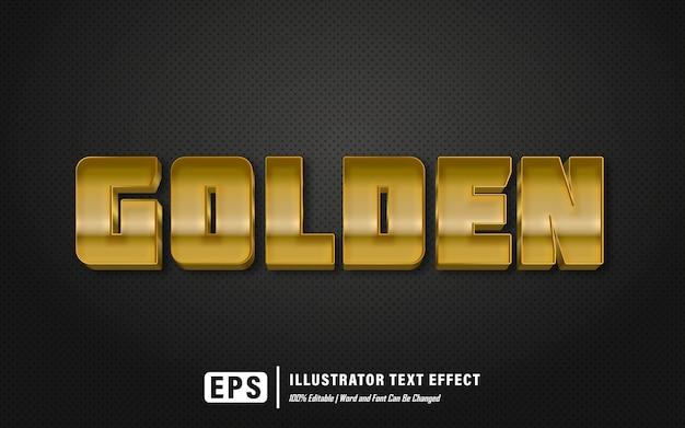 Efekt złotego tekstu - edytowalny