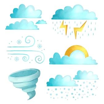 Efekty pogodowe akwareli