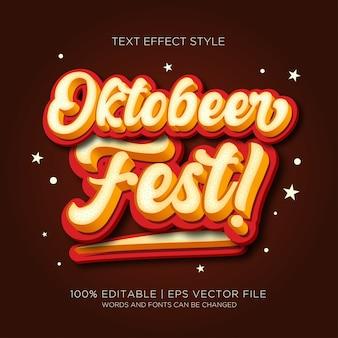 Efekty tekstowe oktober fest