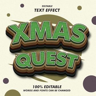 Efekty tekstowe zadania świątecznego