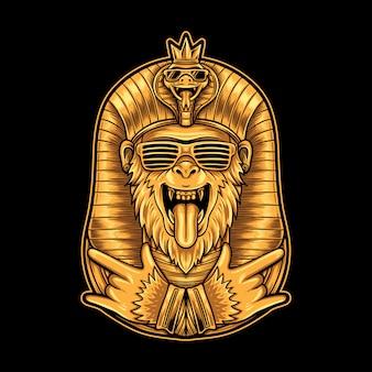 Egipska hiphopowa małpa