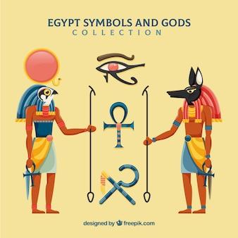 Egipt bogów i paczek symboli