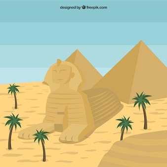 Egipt sfinks
