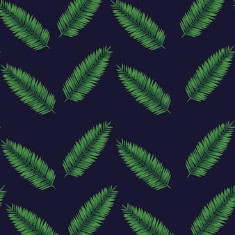 Egzotyczne liście natury