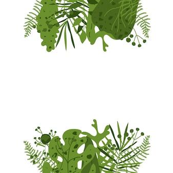 Egzotyczny abstrakcjonistyczny tropikalny liścia tło