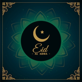 Eid al adha islamskie święto festiwalu