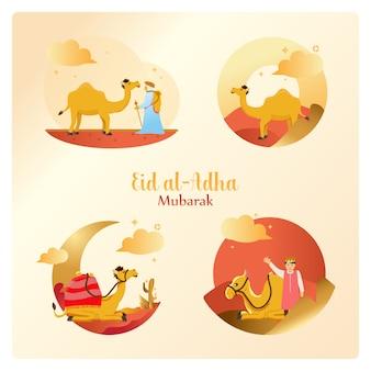 Eid al-adha w zestawie pakietów