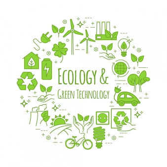 Eko styl życia, szablon. koncepcja zero odpadów, recykling i ponowne użycie