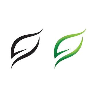 Ekologia ikona zielony liść wektor ilustracja projektu