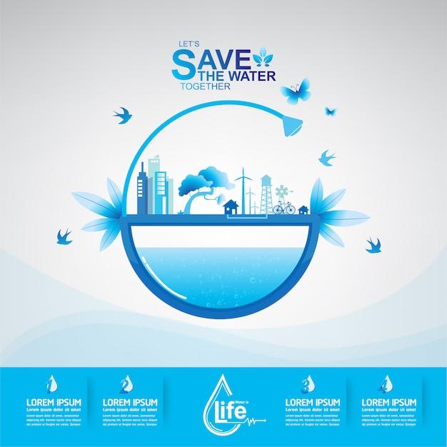 Ekologia oszczędzaj wodę uratuj świat