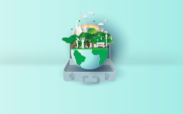 Ekologia środowisko w koncepcji walizki