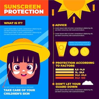 Ekologiczna płaska plansza ochrony przeciwsłonecznej