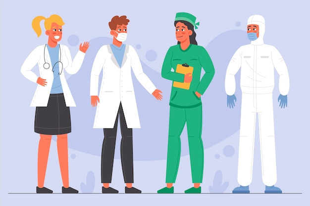 Ekologiczne mieszkania lekarzy i pielęgniarki