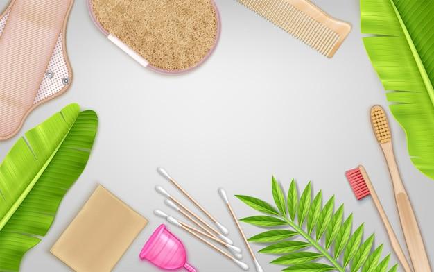 Ekologiczne narzędzia do kąpieli do higieny osobistej