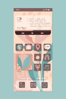 Ekologiczny interfejs ekranu głównego