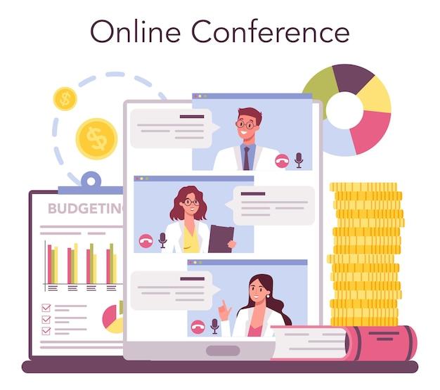 Ekonomiczna usługa lub platforma internetowa