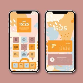 Ekran główny smartfona