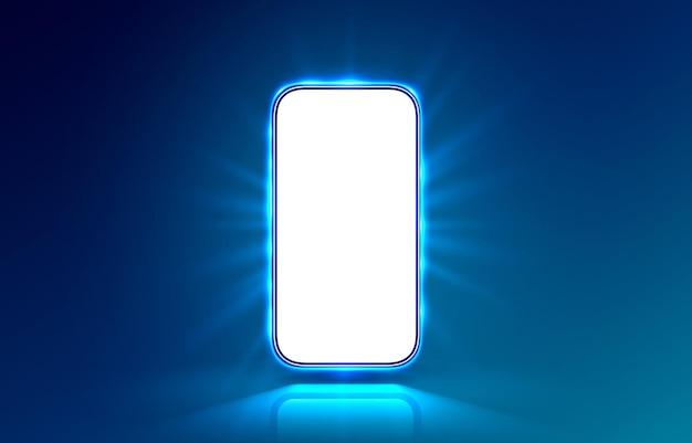 Ekran mobilny smartfona, technologia mobilnego wyświetlacza.