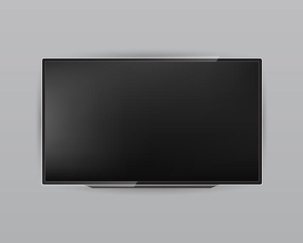 Ekran telewizora, panel lcd, wyświetlacz monitora komputera.