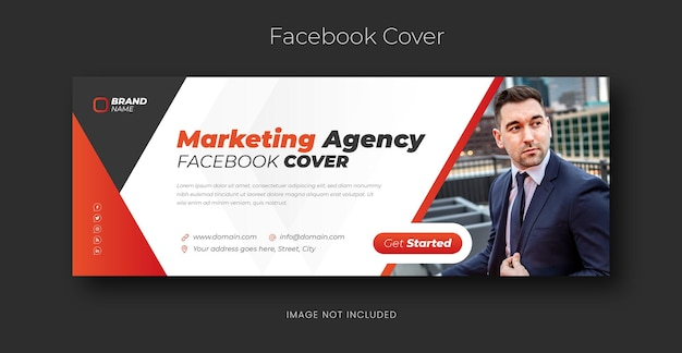 Ekspert ds. marketingu cyfrowego na facebooku projekt banera