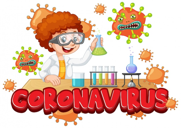 Eksperymentuj z koronawirusem w laboratorium