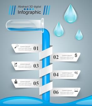 Eksperymenty z tubami. streszczenie infografiki.