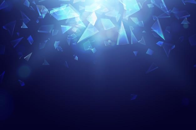 Eksplozja potłuczonego szkła