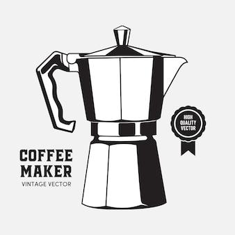 Ekspres Do Kawy Moca Pot Premium Wektorów