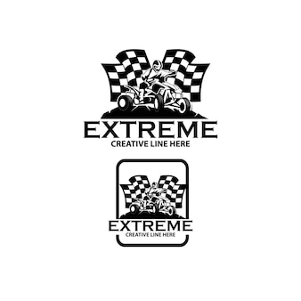 Ekstremalne logo atv