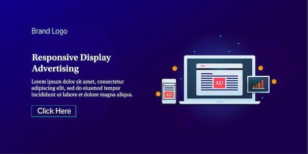 Elastyczne reklamy displayowe
