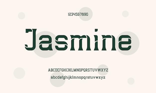 Elegancka Czcionka I Liczba Liter Alfabetu Szeryfowego. Klasyczne Czcionki Typograficzne Regularne Wielkie I Małe Litery Oraz Cyfry Premium Wektorów