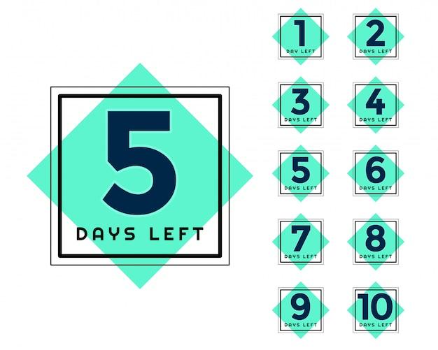 Elegancka ilość dni na marketing marketingowy i promocyjny