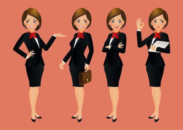 Elegancka kobieta biznesu