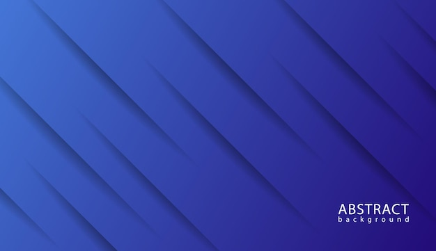 Elegancka linia ukośna w niebieskim tle