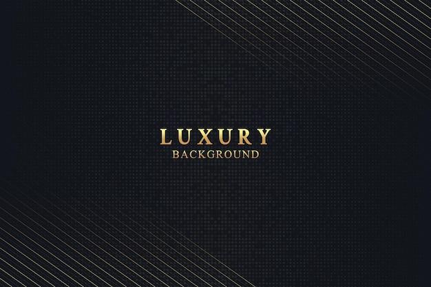 Elegancka luksusowa koncepcja tła z czarno-złotą teksturą