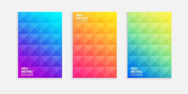 Elegancka, minimalistyczna okładka z gradientowym tłem